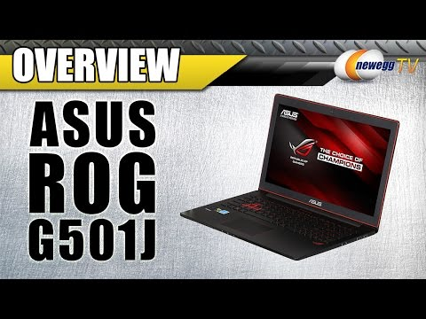 Asus G501J G-Series Gaming Notebook Overview - Newegg TV