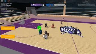 Wolves vs Kings JHL Hoops Roblox