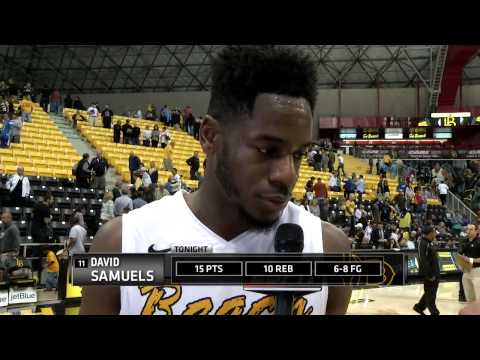 MBB: David Samuels (LBSU) Post-Game vs UCSB