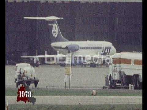 Airplane hijacked lands in Berlin Tempelhof 1978
