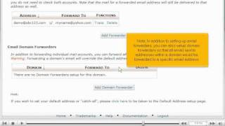 How to setup email forwarding (redirects) in cPanel