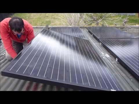 Laptop Powerwall 89 - 1kW solar panels