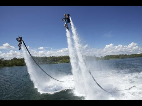Awesome Water Jetpack - Compilation 2015