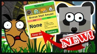 WIE STUMP SNAIL, *SHELL AMULET* & BIG REWARDS! | Roblox Bee Schwarm Simulator