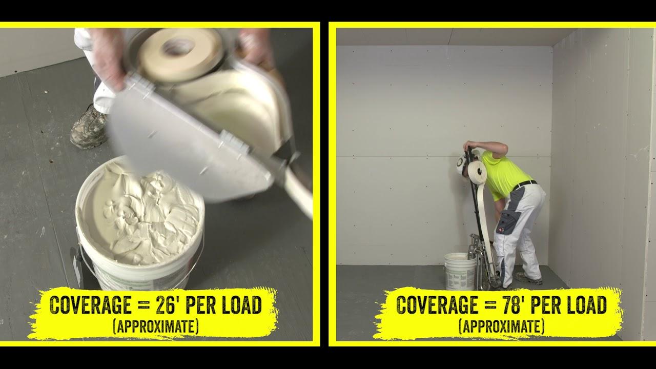 Drywall Taping - Banjo vs  AMES Bazooka