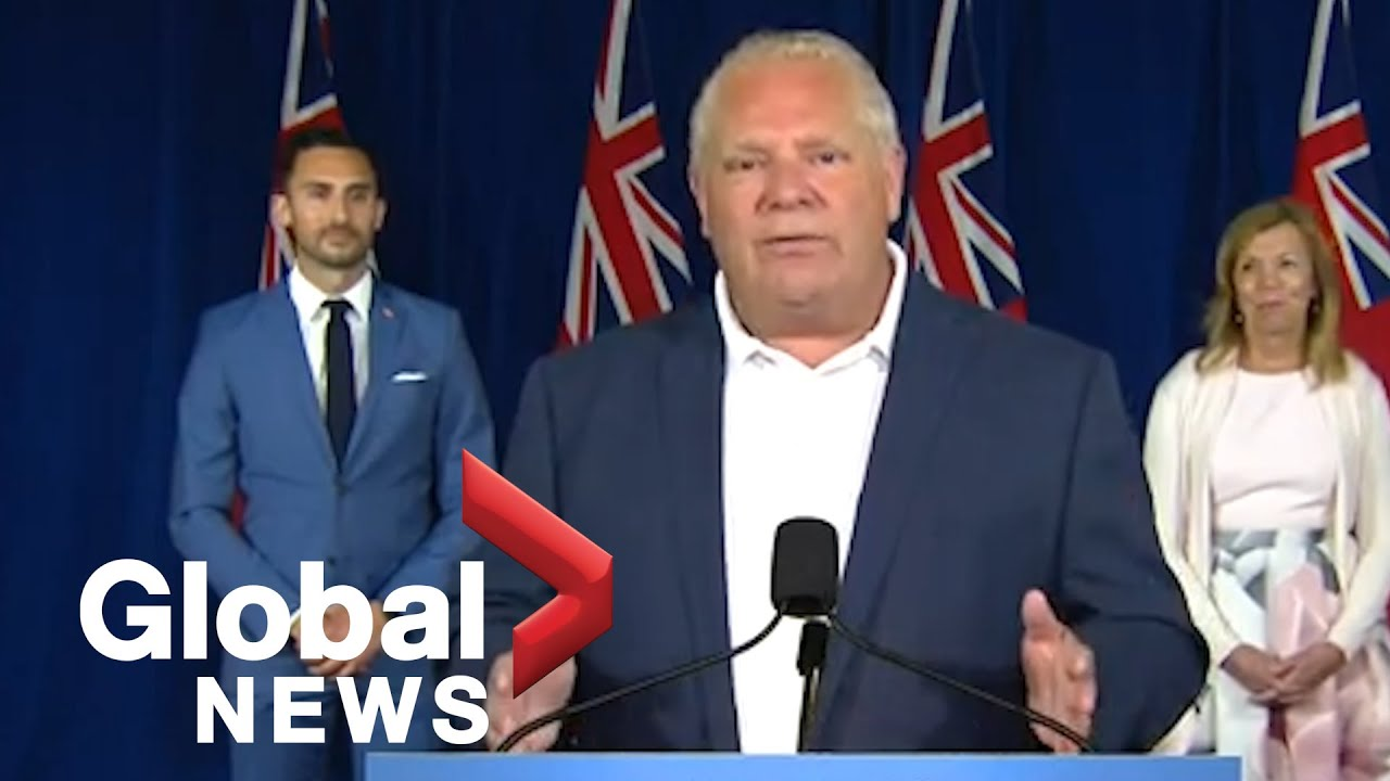 Doug Ford Announcement Today Live - Wbff Fox 45 Live ...