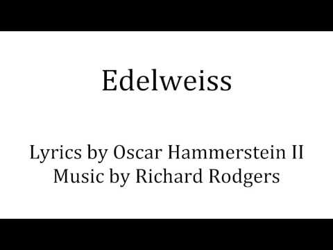 """Edelweiss"" from The Sound of Music - piano accompaniment"