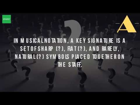 What Is The Definition Of Key Signature In Music?