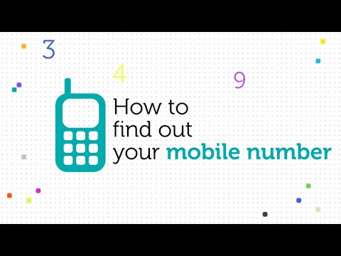 how can i find out my mobile number