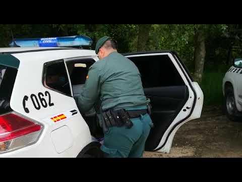 La Guardia Civil rescata una nutria en A Illa