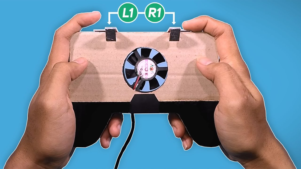 DIY an Amazing Mobile Gaming Controller with Cooler Fan