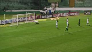 Guarani vence Goiás com gol de Braian Samudio