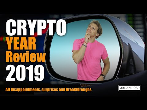 Crypto Year Review 2019 Dr Julian Hosp The Blockchain