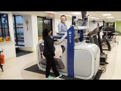 Mary Free Bed's new Anti-Gravity Treadmill