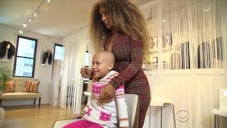 Special gift helps girl with cancer feel better about herself