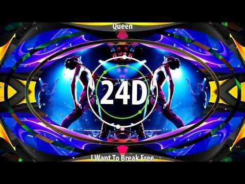 Queen - I Want To Break Free(24D AUDIO)🎧  (Use Headphones)