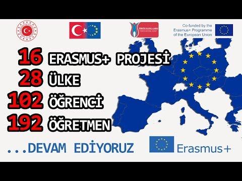 Okulumuz Erasmus+ Projelerinde Rekora Koşuyor. (Mamak Ortaköy 80. Yıl M.T.A.L)