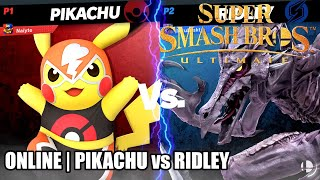 Super Smash Bros. Ultimate - Online | Pikachu vs Ridley