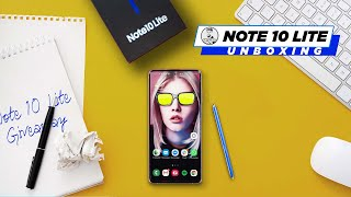 Galaxy Note 10 Lite Unboxing & Giveaway - Lite in Name Only!