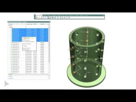 Siemens Nx | Group Feature and Drilling