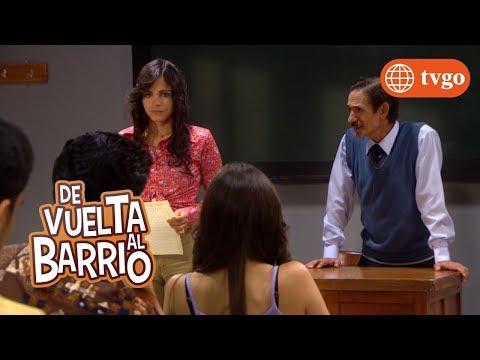 ¡Estela hace una composición para Beto! - De Vuelta al Barrio 03/12/2018