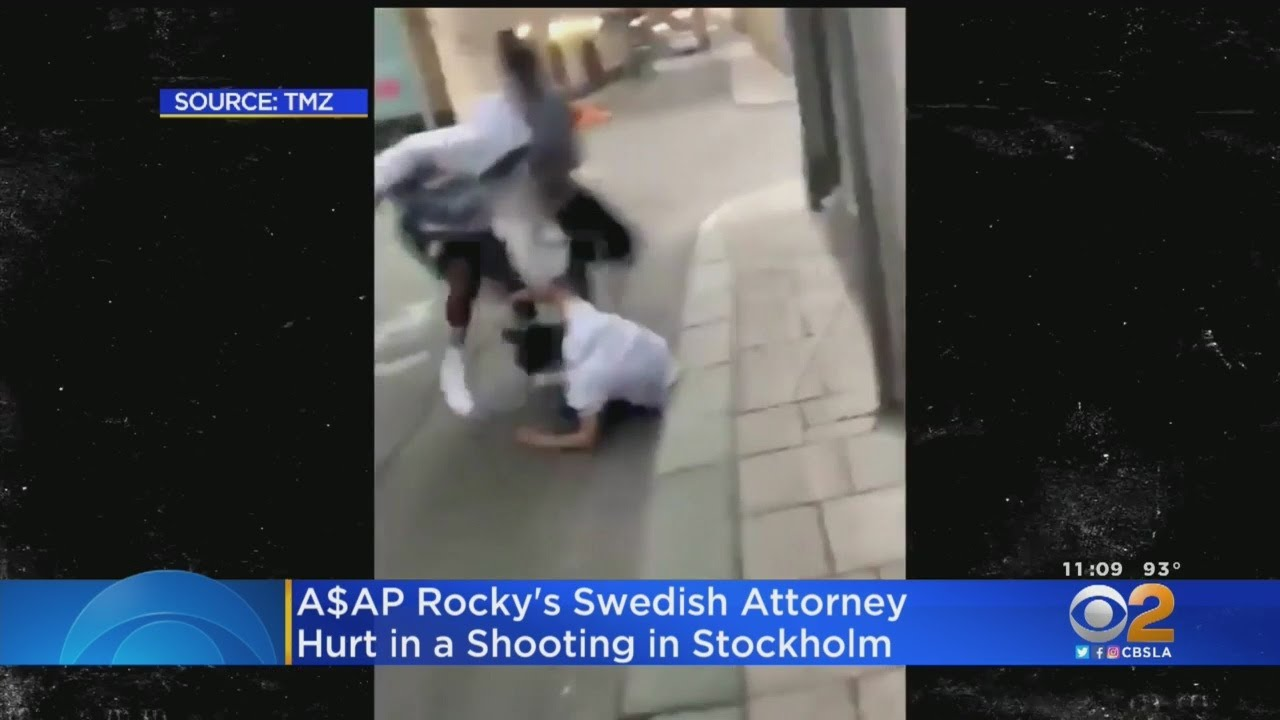A$AP Rocky's Swedish Attorney Shot In Stockholm