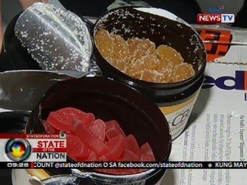 SONA: Gummy candies na nilagyan ng sangkap na galing marijuana, nasabat ng BOC-NAIA