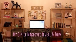 My Office Makeover Reveal and Tour | Blair Fowler Thumbnail