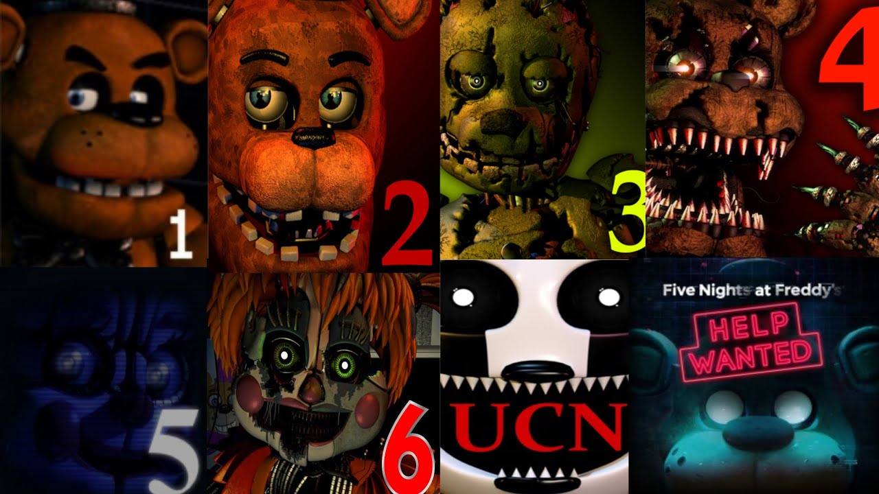 Which FNaF Game is the Scariest?