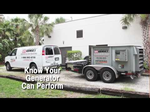 Genset Services, Inc. Load Banking