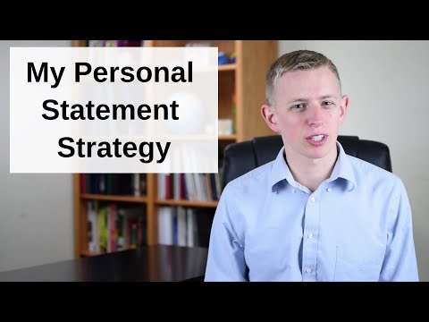 How To Approach The Personal Statement (Medical School)