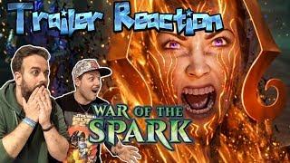 """Videorreacción al nuevo trailer de Magic: """"War of the Spark"""""""