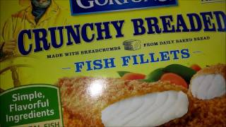 Gorton's Crunchy Breaded Fish Fillets Review