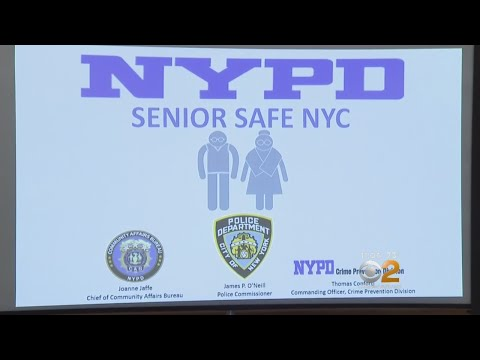 Growing Safety Concerns Prompt New NYPD Senior Outreach Program