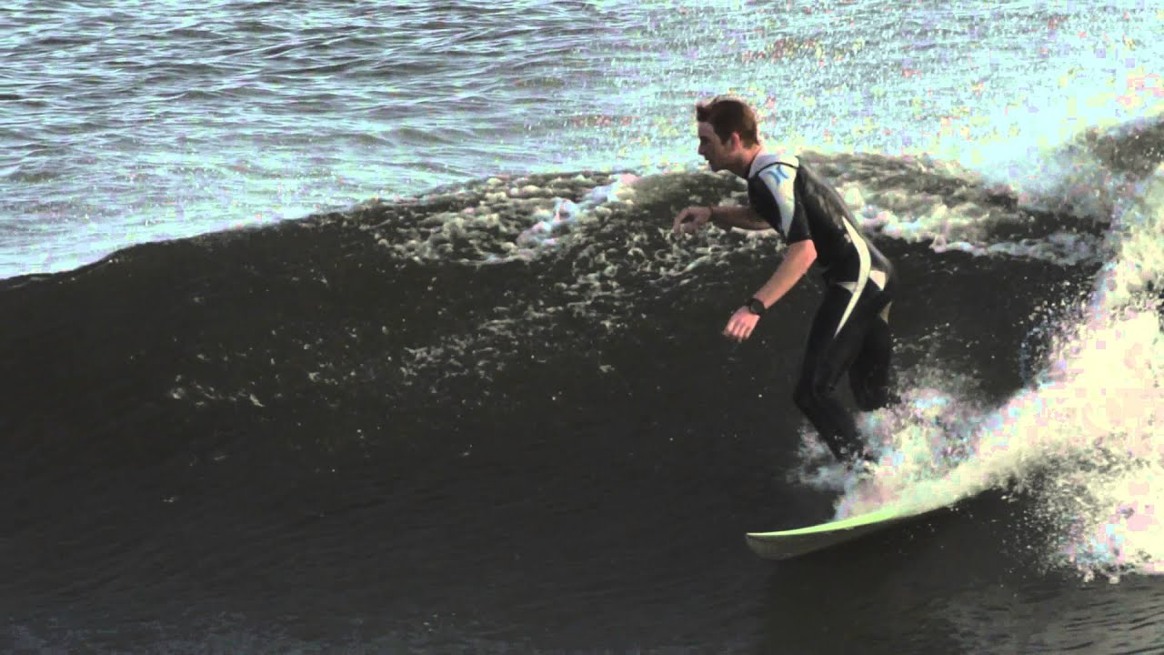 Slow Motion Long Beach Surf