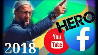 AsadUddin Owaisi @ FHD 1080p | YouTube & Facebook Hero 2018
