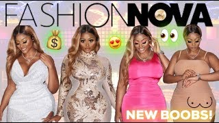 POST SURGERY TRY ON HAUL!! GOING OUT/PARTY DRESSES FASHION NOVA CURVE TRY ON HAUL