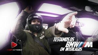 Pilotamos BMW M3 X5M M240i e Mini JCW no autódromo de Interlagos!    Canal Top Speed   Parte 2