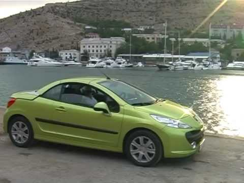 peugeot 207 cc youtube. Black Bedroom Furniture Sets. Home Design Ideas