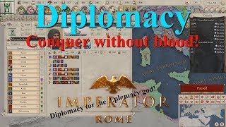 Imperator Rome - Diplomacy Tutorial - Every Option and Subject Type Explained