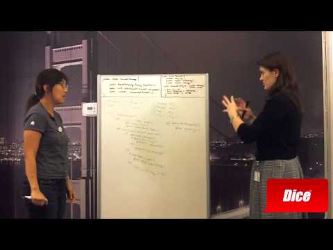 Watch a Cisco Manager Conduct a Whiteboard Test