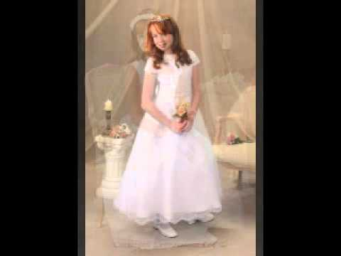 2a58861388b First Communion Dresses for 2011 by Christian Expressions LLC - YouTube