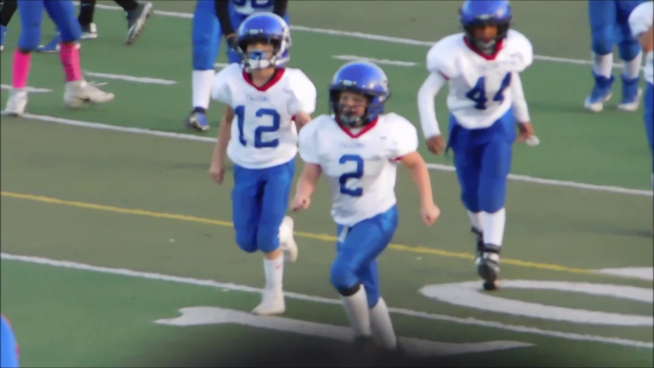 2018 ATWATER FALCONS VS. BUHACH THUNDER PEEWEE DIVISION