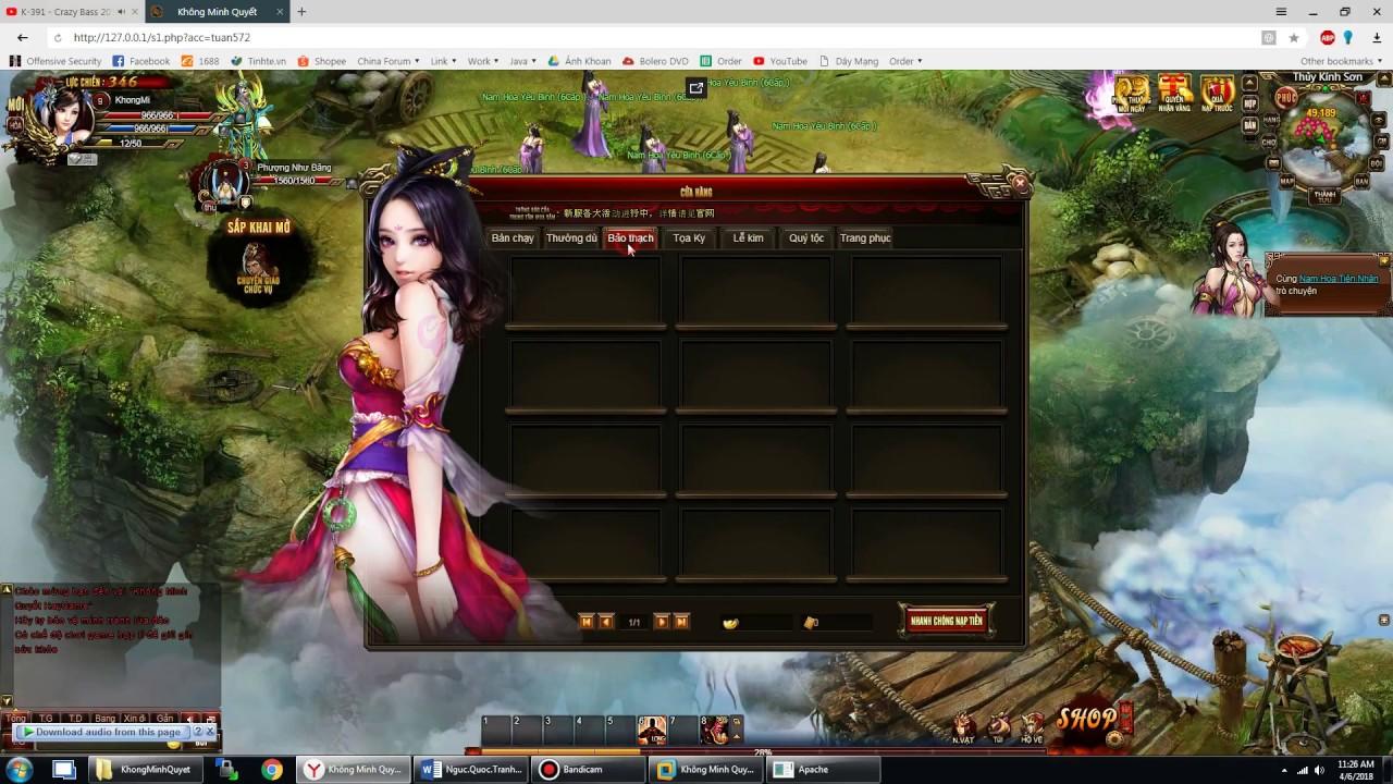 [Release] Không Minh Quyết – Webgame – Việt Hóa 90%