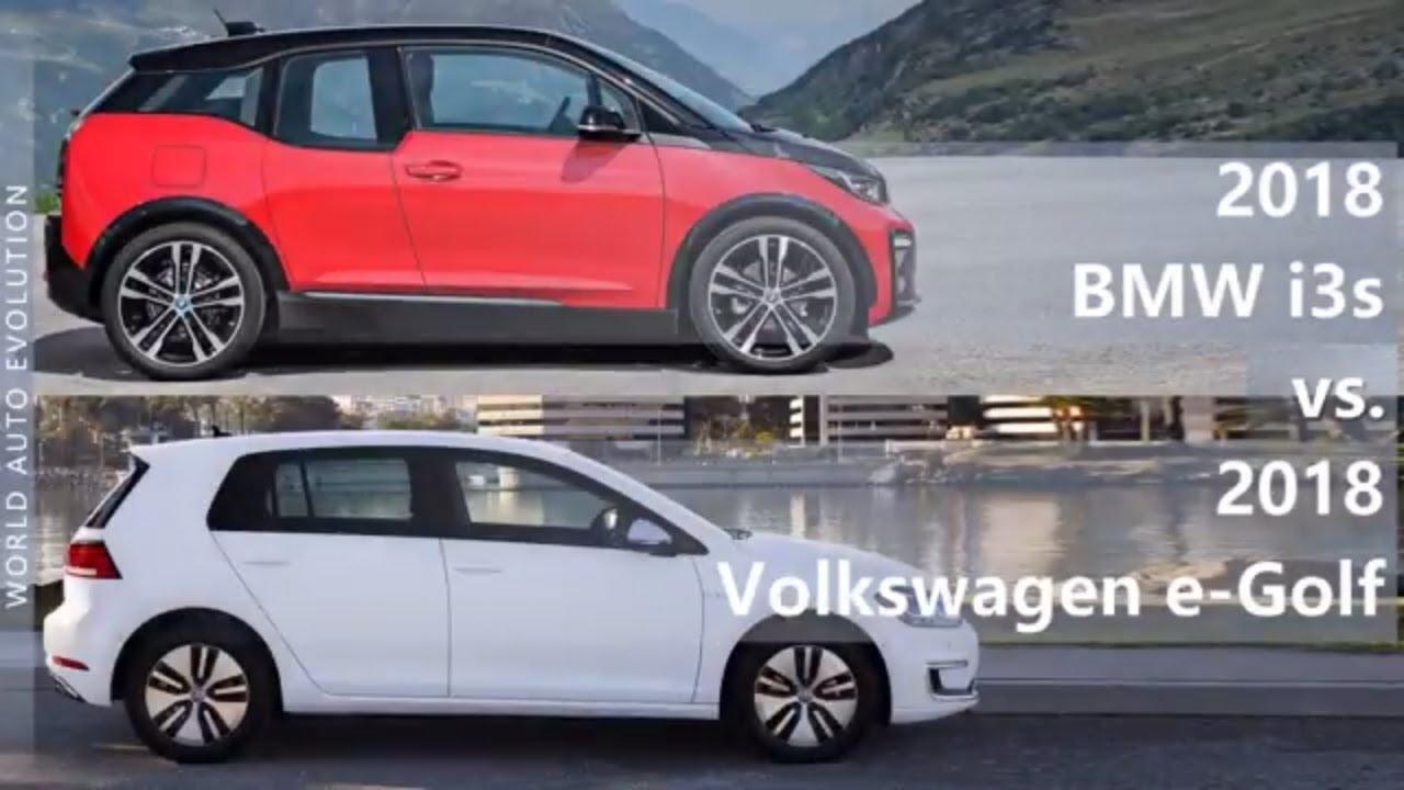 2018 Bmw I3s Vs Volkswagen E Golf Technical Comparison