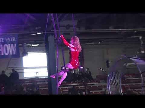 Amazing acrobat act
