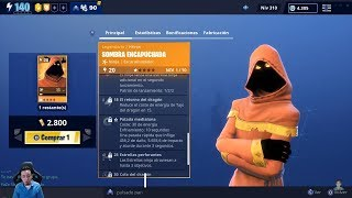 Direct Using New Skin Hooded Shadow NINJA Skirmisher Save the Fortnite World