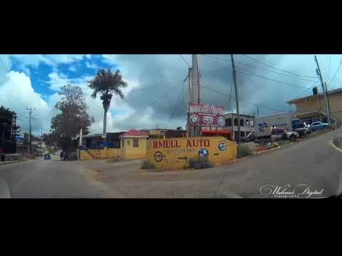 Driving to B Mull Auto | Mandeville, Jamaica | Walmos Digital