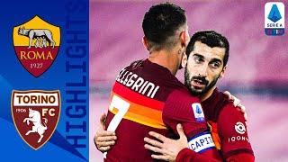 Roma 3-1 torino | climb into top 4 with comfortable win! serie a tim