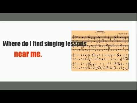 Singing Classes Near Me